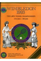 Wimbledon 1993 The Lawn Tennis Championships 21st June - 4th July + Numbered Welcome Guide for 4th July