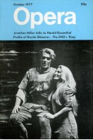 Opera (magazine) - Volume 28 No 10 : October 1977
