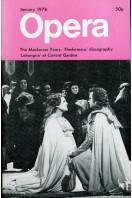 Opera (magazine) - Volume 29 No 1 : January 1978