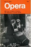 Opera (magazine) - Volume 29 No 2 : February 1978