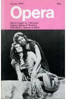 Opera (magazine) - Volume 30 No 1 : January 1979