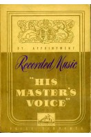 His Master's Voice Recorded Music 1941
