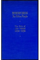 Berisfords The Ribbon People : The Story of 100 Years 1858-1958