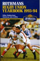 Rothmans Rugby Union Yearbook 1993-94