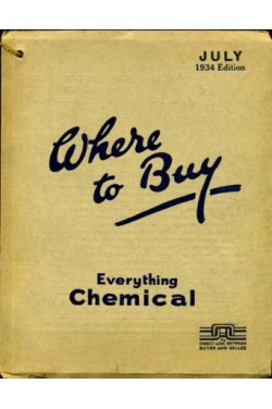 Where to Buy - Everything Chemical - July 1934 Edition