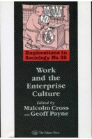 Work and the Enterprise Culture : Explorations in Sociology No 38
