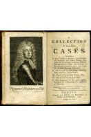 A Collection of Cases containing the Case of Barbara, Late Duchess of Cleavelend and Robert Feilding, the Case of Sir George Downing and Mrs Mary Forefter, the Case of John Dormer, the Case of the Lord Roos Etc.
