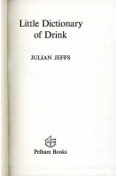 Little Dictionary of Drink
