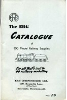 The ERG Catalogue of 00 Model Railway Supplies : For All That's Best in 00 Railway Modelling