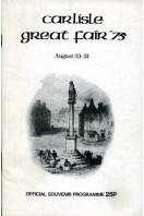 Carlisle Great Fair '75 August 23-31 : Official Souvenir Programme