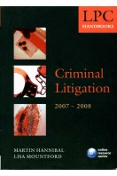 Criminal Litigation Handbook 2007-2008