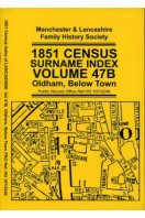 1851 Census Surname Index Volume 47B : Oldham, Below Town