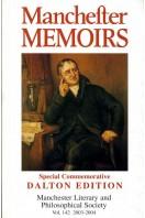Manchester Memoirs : Special Commemorative Dalton Edition : Vol 142 2003-2004