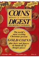 Coins Medals & Currency Digest and Monthly Catalogue : Issue NumberFour (4) : December 1969