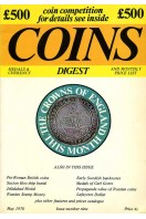 Coins Medals & Currency Digest and Monthly Price List : Issue Number Nine (9) : May 1970