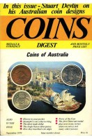 Coins Medals & Currency Digest and Monthly Price List : Issue Number Eleven (11) : September 1970