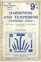 Hardening and Tempering Engineers' Tools