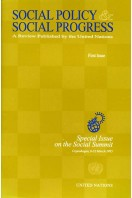 Social Policy and Social Progress : Special Issue on the Social Summit, Copenhagen