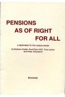 Pensions as of Right for All : A Response to the Green Paper
