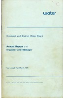 Stockport and District Water Board : Annual Report of the Engineer and Manager 1971
