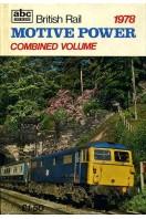 British Rail Motive Power 1978, Combined Volume