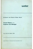 Stockport and District Water Board : Annual Report of the Engineer and Manager 1972
