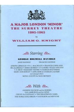 A Major London 'Minor': Surrey Theatre 1805-1865