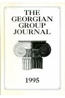 The Georgian Group Journal : Volume V : 1995
