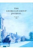 The Georgian Group Journal : Volume IX : 1999