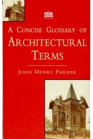 A Concise Glossary of Architectual Terms