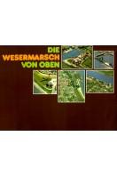 Die Wesermarsch von Oben