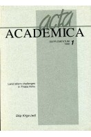 Land Reform Challenges in Thaba Nchu : Acta Academica Supplementum 1998 (1)