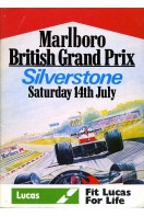 British Grand Prix Silverstone 1979 : Race Programme