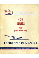 Cessna 400 Series DME (Type RTA-476A) Service/Parts Manual