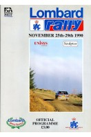 Lombard RAC Rally 1990 Official Programme
