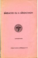 Bardachd Gu a Mineachadh