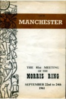 City of Manchester : The 81st Meeting of the Morris Ring 1961