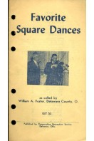 Favorite Square Dances : KIT 53