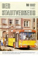 Der Stadtverkehr : October 1982 No 10