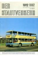 Der Stadtverkehr : November/December 1982 No 11/12