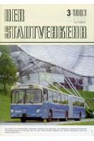 Der Stadtverkehr : March 1983 No 3