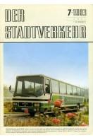 Der Stadtverkehr : July 1983 No 7