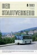Der Stadtverkehr : August 1983 No 8
