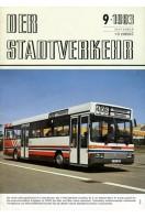 Der Stadtverkehr : September 1983 No 9