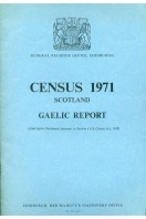 Census 1971, Scotland, Gaelic Report