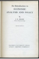 An Introduction to Economic Analysis and Policy