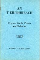 An T-Eilthireach : Original Gaelic Poems and Melodies