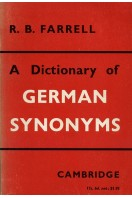 A Dictionary of German Synonyms