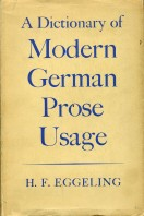 A Dictionary of Modern German Prose Usage