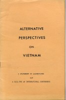 Alternative Perspectives on Vietnam